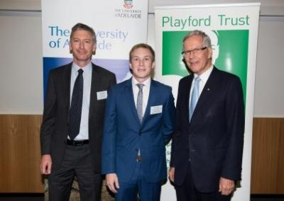 2016 Awards Night Coopers Brewery Ltd/Playford Trust Honours Scholarship