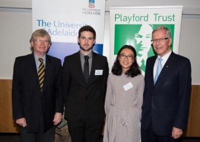 2016 Awards Night Scantech/Playford Trust Honours Scholarships in Physics